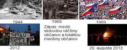 protest totalita